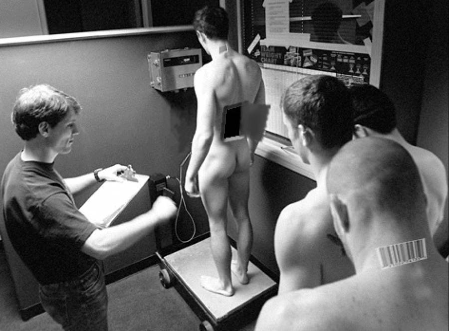 Army men nude physical