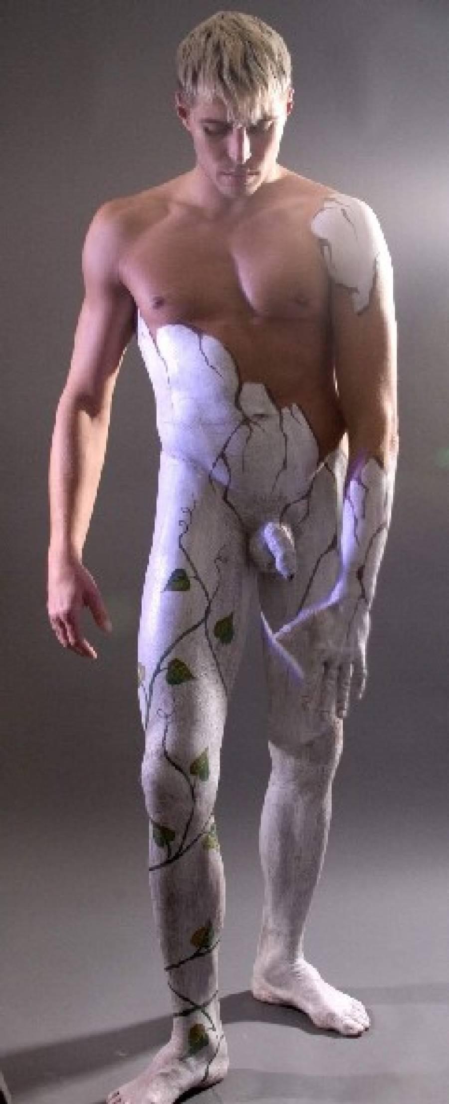 Бодиарт мужик полностью голый фото фото 255-614
